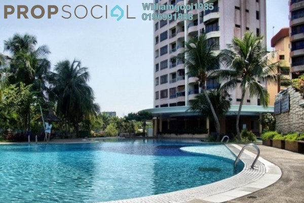 For Sale Condominium at E-Park, Batu Uban Freehold Semi Furnished 3R/2B 459k