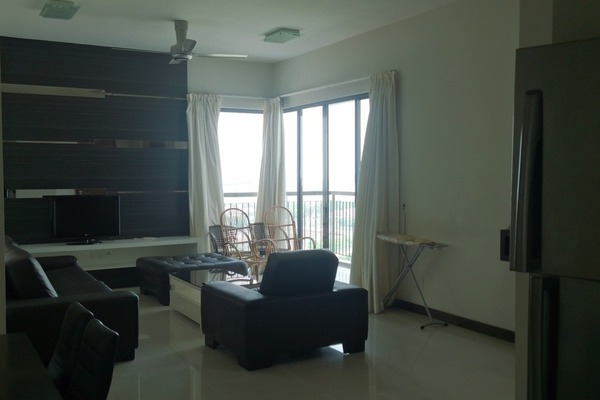 For Rent Condominium at Nautica Lake Suites @ Sunway South Quay, Bandar Sunway Leasehold Fully Furnished 3R/2B 4k
