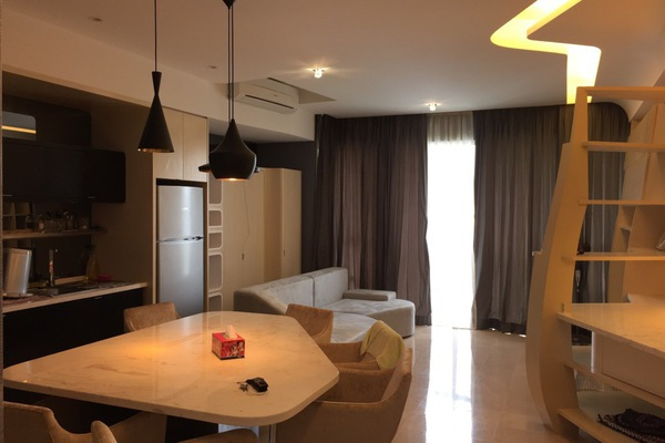 For Rent Condominium at VERVE Suites, Mont Kiara Freehold Semi Furnished 2R/2B 4.6k