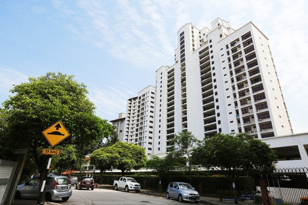 For Rent Condominium at Wangsa Baiduri, Subang Jaya Leasehold Fully Furnished 2R/3B 2.6k