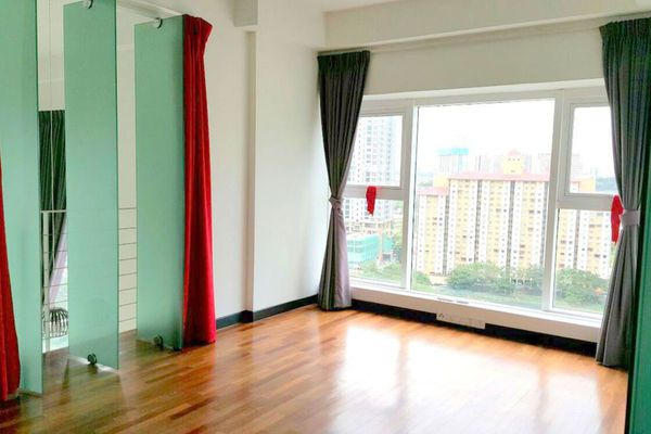 For Sale Condominium at The Scott Garden, Old Klang Road Freehold Semi Furnished 1R/1B 479k
