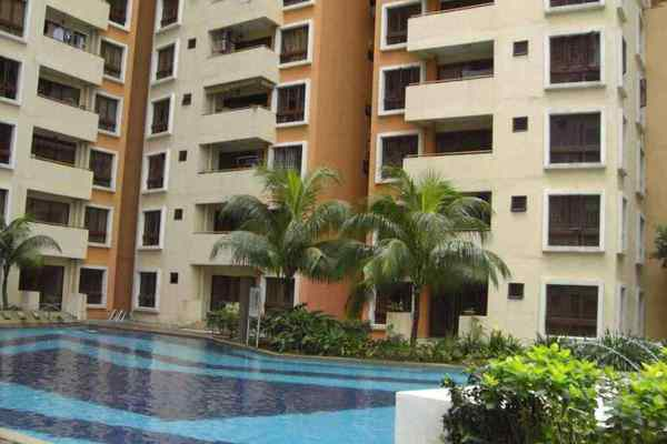 For Rent Condominium at Palm Spring, Kota Damansara Leasehold Semi Furnished 3R/2B 1.4k