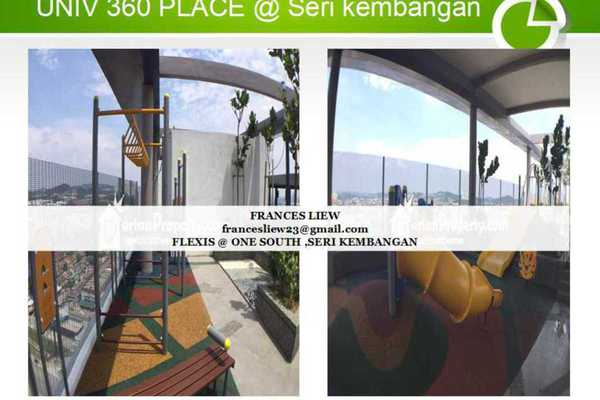 For Rent SoHo/Studio at Flexis @ One South, Seri Kembangan Leasehold Semi Furnished 0R/1B 1.2k