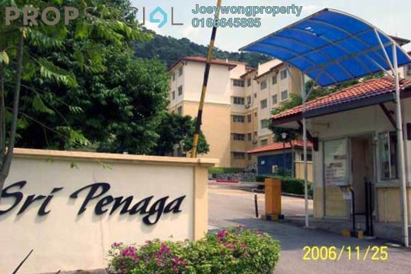 For Rent Apartment at Sri Penaga Apartment, Pusat Bandar Puchong Freehold Semi Furnished 3R/2B 1.2k