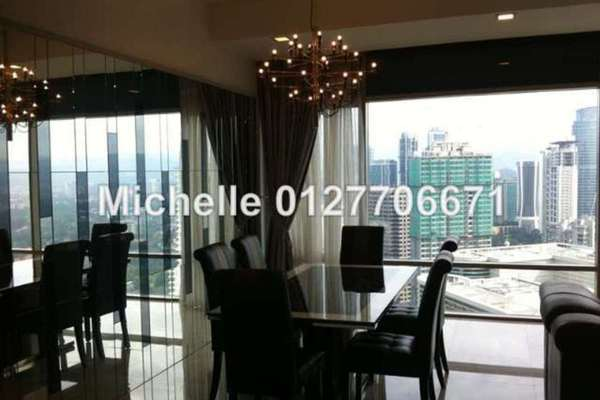 For Rent Condominium at Pavilion Residences, Bukit Bintang Leasehold Fully Furnished 3R/5B 11k