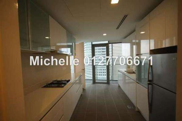 For Rent Condominium at K Residence, KLCC Freehold Fully Furnished 3R/4B 9k