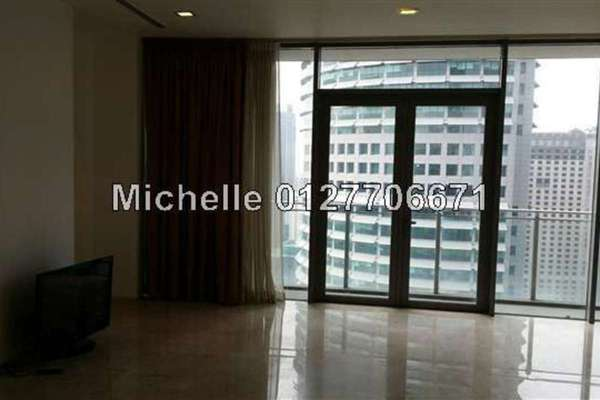 For Rent Condominium at K Residence, KLCC Freehold Semi Furnished 2R/4B 8k