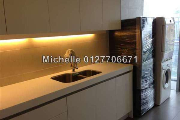 For Rent Condominium at K Residence, KLCC Freehold Semi Furnished 3R/4B 9.5k