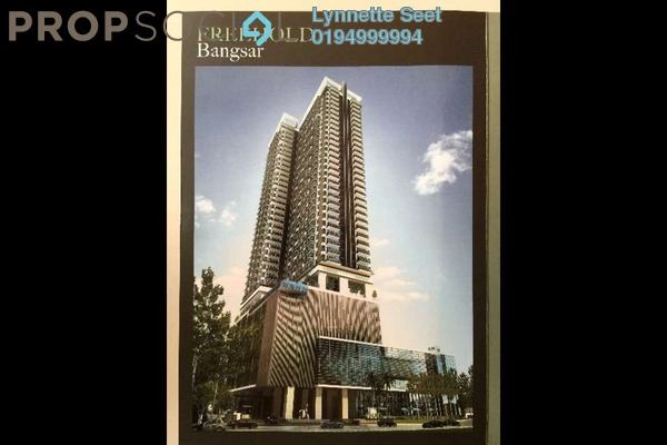 For Sale Condominium at Nadi Bangsar, Bangsar Freehold Semi Furnished 1R/2B 1.33m