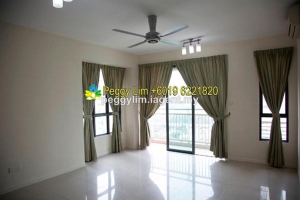 For Rent Condominium at Casa Kiara II, Mont Kiara Freehold Semi Furnished 3R/3B 3.4k