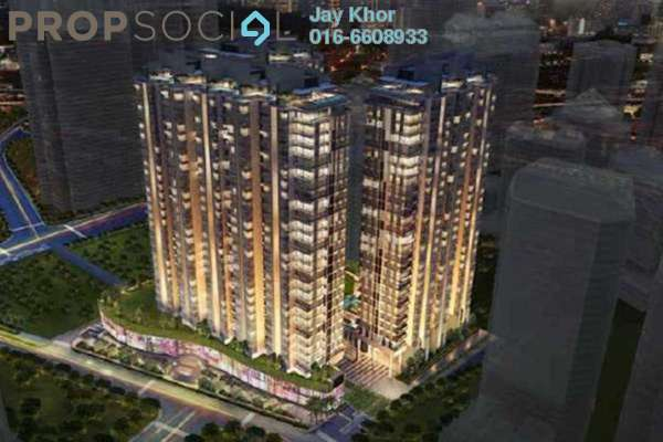 For Rent Condominium at St Mary Residences, KLCC Freehold  2R/2B 7.78k