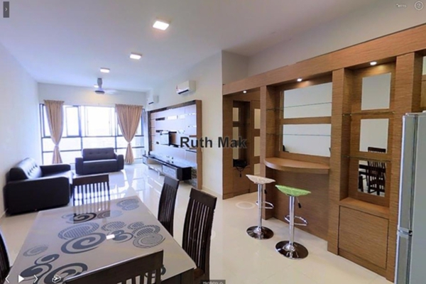 For Rent Condominium at KM1, Bukit Jalil Leasehold Fully Furnished 3R/3B 2.9k