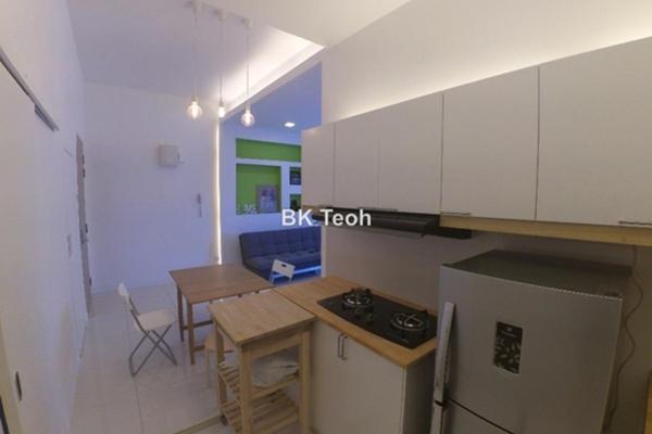 For Rent Condominium at Skypod, Bandar Puchong Jaya Leasehold Fully Furnished 1R/1B 1.8k