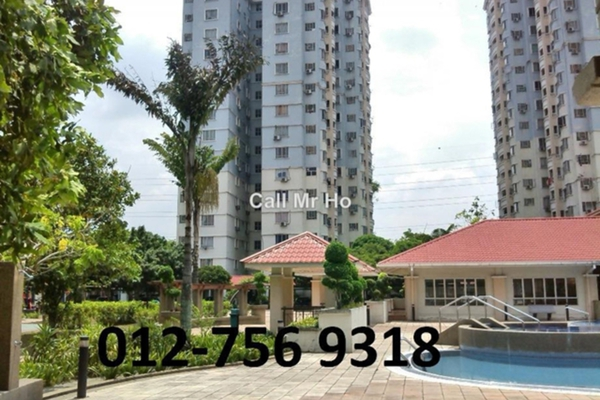 For Sale Condominium at Pertiwi Indah, Cheras Leasehold Unfurnished 3R/2B 590k