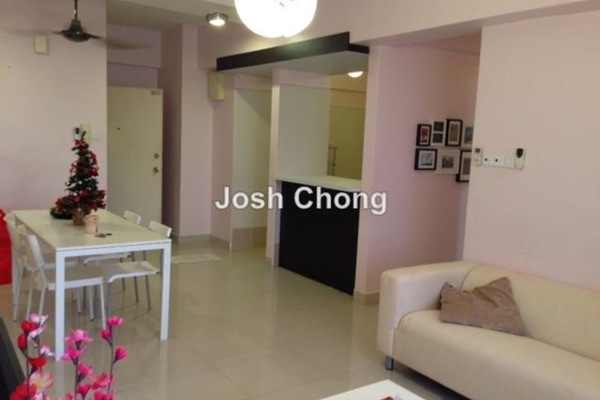 For Sale Condominium at Casa Desa, Taman Desa Leasehold Semi Furnished 3R/2B 750.0千