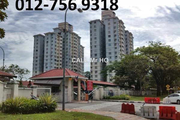 For Rent Condominium at Pertiwi Indah, Cheras Leasehold Semi Furnished 3R/2B 1.6k