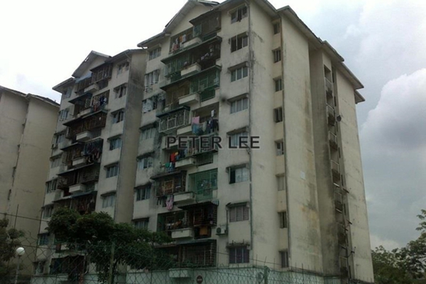 For Sale Apartment at Taman Bunga Negara, Shah Alam Leasehold Unfurnished 3R/2B 190k