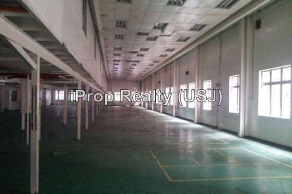 For Rent Factory at Section 16, Shah Alam Leasehold Unfurnished 0R/0B 70k