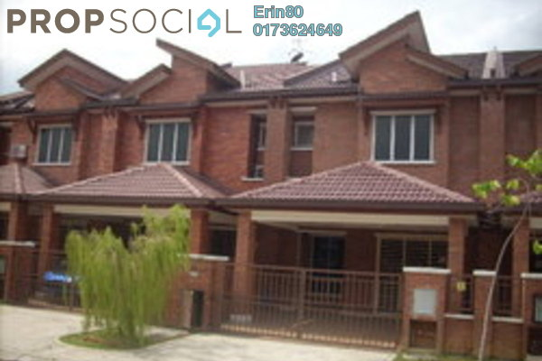 For Rent Terrace at Alam Budiman, Shah Alam Leasehold Unfurnished 4R/4B 1.3k
