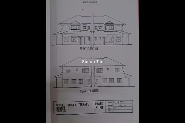 For Sale Terrace at USJ 13, UEP Subang Jaya Freehold Unfurnished 4R/3B 1.1m