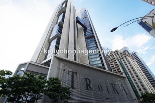 For Sale Condominium at The Troika, KLCC Freehold Fully Furnished 3R/4B 3.25m