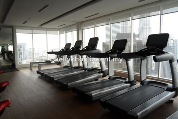 For Sale Condominium at Vipod Suites, KLCC Freehold Fully Furnished 1R/1B 1.08m