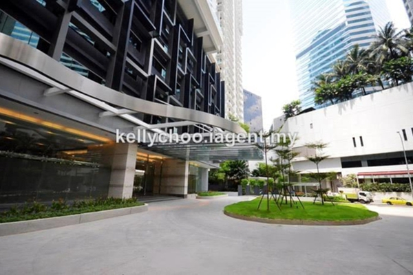For Sale Condominium at Binjai 8, KLCC Freehold Semi Furnished 1R/1B 830k