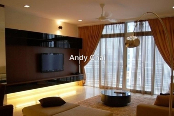 For Sale Condominium at Idaman Residence, KLCC Freehold Fully Furnished 4R/5B 1.5m
