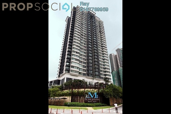 For Sale Condominium at KM1, Bukit Jalil Freehold Unfurnished 3R/3B 1.3m