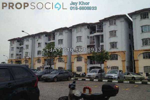 For Sale Apartment at Subang Bestari, Subang Leasehold Semi Furnished 3R/2B 210.0千