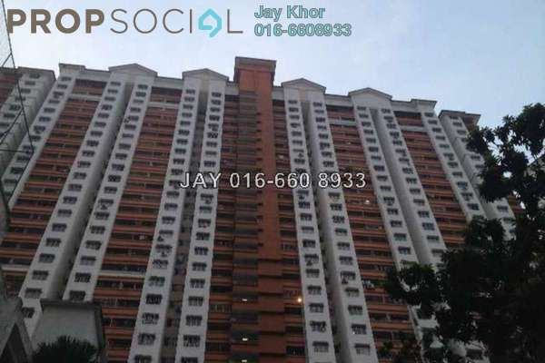 For Sale Apartment at Flora Damansara, Damansara Perdana Leasehold Semi Furnished 3R/2B 213k