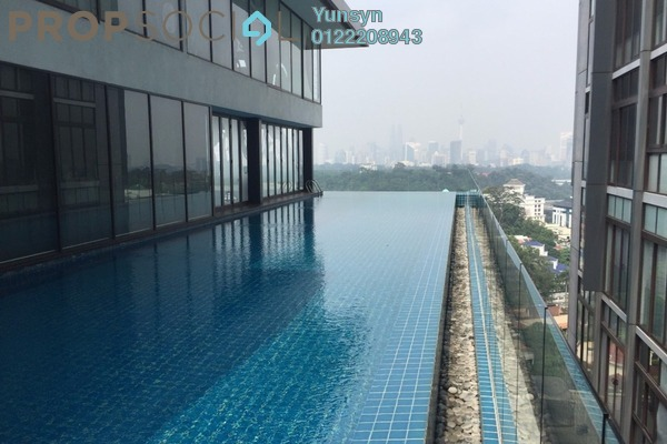 For Sale Condominium at Clearwater Residence, Damansara Heights Freehold Semi Furnished 1R/1B 867k