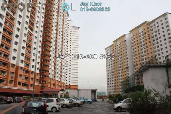 For Sale Apartment at Flora Damansara, Damansara Perdana Leasehold Semi Furnished 3R/2B 116k