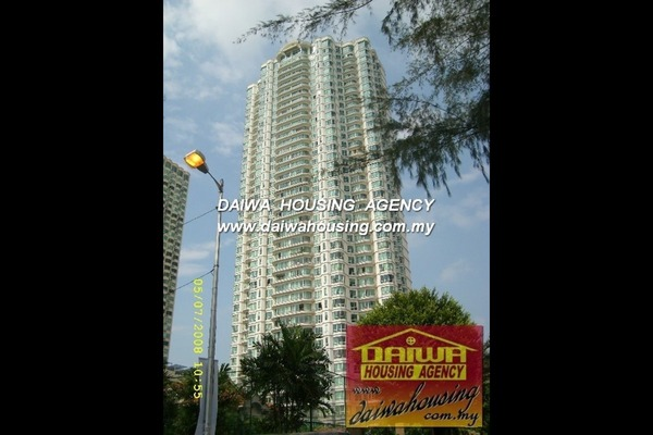 For Rent Condominium at Gurney Beach, Gurney Drive Freehold Semi Furnished 4R/3B 3.6k