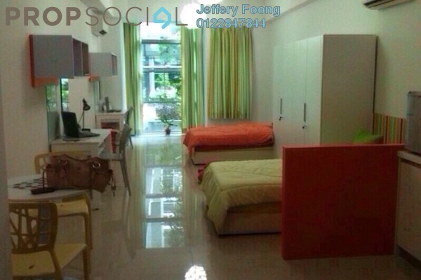 For Rent Condominium at First Subang, Subang Jaya Freehold Fully Furnished 1R/1B 2k
