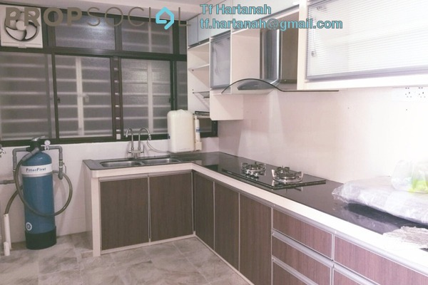 For Rent Apartment at Rhythm Avenue, UEP Subang Jaya Freehold Fully Furnished 3R/2B 1.4k