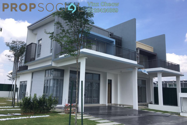 For Sale Superlink at Nautilus @ D'Island, Puchong Freehold Unfurnished 5R/5B 1.1m