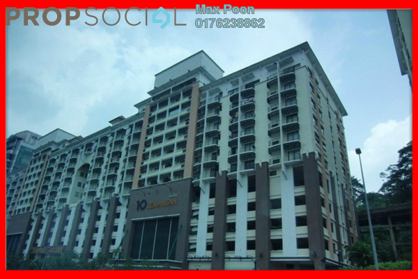 For Rent Condominium at 10 Semantan, Damansara Heights Leasehold Fully Furnished 2R/2B 2k
