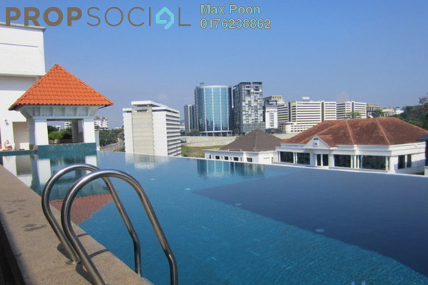 For Rent Condominium at 10 Semantan, Damansara Heights Leasehold Fully Furnished 1R/1B 1.5k