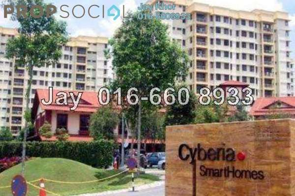 For Sale Condominium at Cyberia SmartHomes, Cyberjaya Freehold Semi Furnished 3R/2B 338.0千