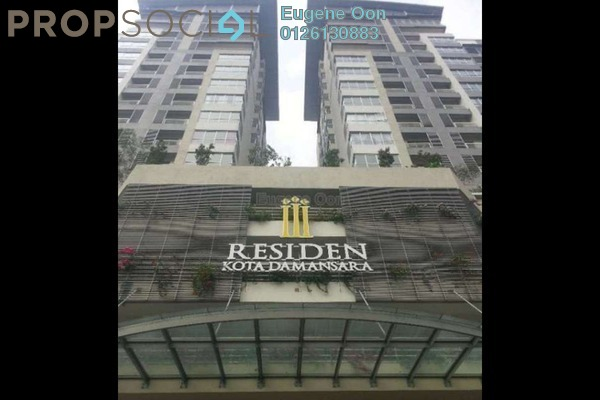 For Sale Condominium at I Residence, Kota Damansara Leasehold Semi Furnished 3R/2B 780k
