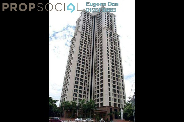 For Sale Condominium at Vista Damai, KLCC Freehold Fully Furnished 3R/3B 1m