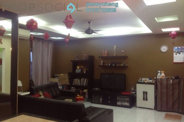 For Rent Apartment at Desa Impiana, Puchong Freehold Semi Furnished 3R/2B 1.8k