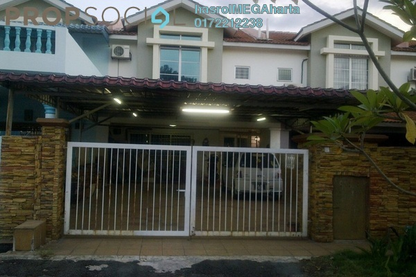 For Sale Terrace at Bandar Country Homes, Rawang Freehold Unfurnished 4R/3B 400k