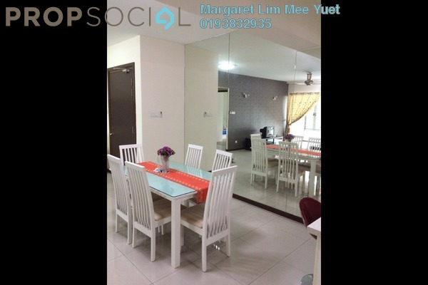 For Rent Condominium at Saujana Residency, Subang Jaya Freehold Fully Furnished 3R/3B 5.5k