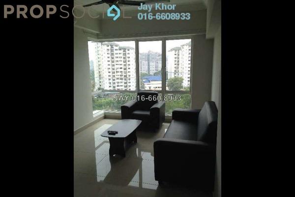 For Rent Condominium at Tiara Mutiara, Old Klang Road Freehold Semi Furnished 3R/2B 2.2k