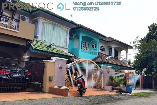 For Sale Terrace at SL6, Bandar Sungai Long Freehold Semi Furnished 4R/3B 580k
