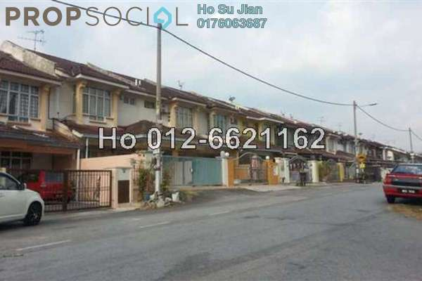 For Sale Terrace at Section 6, Bandar Mahkota Cheras Freehold Semi Furnished 4R/3B 530k