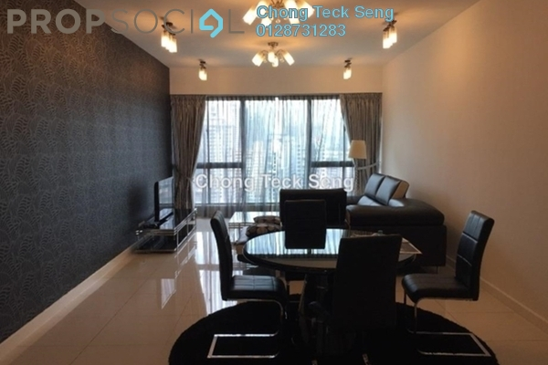 For Rent Serviced Residence at Gateway Kiaramas, Mont Kiara Freehold Fully Furnished 3R/3B 5.5k