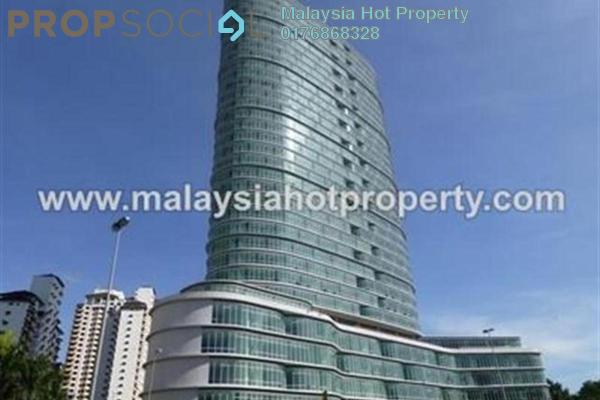For Sale Office at Oval Tower, TTDI Freehold Semi Furnished 1R/1B 830.0千